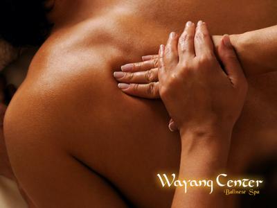 wayang massagem balinesa