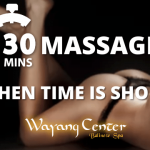 Wayang Center massagens 30 minutos